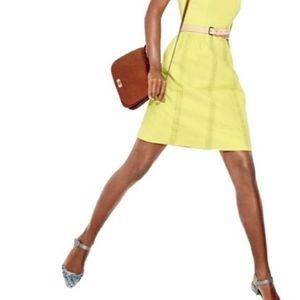 J. Crew Cotton Pique and Lace Skirt size 12